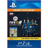 2200 FIFA 17 Points Pack - PS4 CZ Digital - Herní doplněk