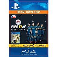 12000 FIFA 17 Points Pack - PS4 CZ Digital - Herní doplněk