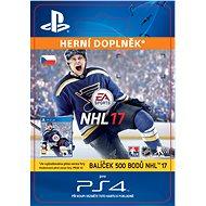 500 NHL 17 Points Pack - PS4 CZ Digital - Herní doplněk