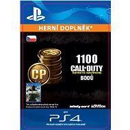 1,100 Call of Duty: Infinite Warfare Points - PS4 CZ Digital - Herní doplněk