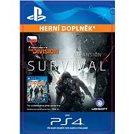TOM CLANCY'S THE DIVISION Survival - PS4 CZ Digital - Herní doplněk