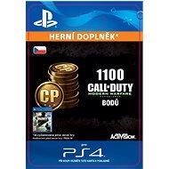 1,100 Call of Duty: Modern Warfare Remastered Points - PS4 CZ Digital - Herní doplněk