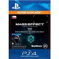 500 Mass Effect: Andromeda Points - PS4 CZ Digital - Herní doplněk