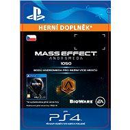 1050 Mass Effect: Andromeda Points - PS4 CZ Digital - Herní doplněk