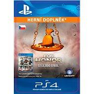FOR HONOR 11 000 STEEL Credits Pack - PS4 CZ Digital - Herní doplněk