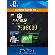750 FIFA 18 Points Pack - PS4 CZ Digital - Herní doplněk