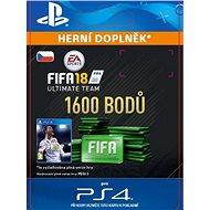 1600 FIFA 18 Points Pack - PS4 CZ Digital - Herní doplněk
