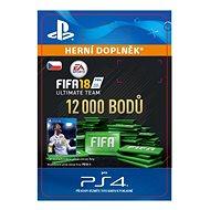 12000 FIFA 18 Points Pack - PS4 CZ Digital - Herní doplněk