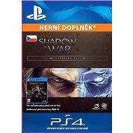 Middle-earth: Shadow of War Expansion Pass - PS4 CZ Digital - Herní doplněk