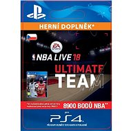 NBA Live 18 Ultimate Team - 8900 NBA points - PS4 CZ Digital - Herní doplněk