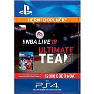 NBA Live 18 Ultimate Team - 12000 NBA points - PS4 CZ Digital - Herní doplněk