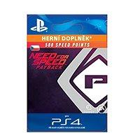 NFS Payback 500 Speed Points - PS4 CZ Digital - Herní doplněk
