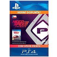 NFS Payback 2200 Speed Points - PS4 CZ Digital - Herní doplněk