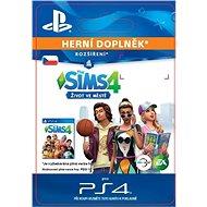 The Sims™ 4 City Living - PS4 CZ Digital - Herní doplněk