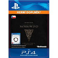 The Elder Scrolls Online: Morrowind Collectors Edition Upgrade - PS4 CZ Digital - Herní doplněk