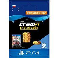 The Crew 2 Bronze Crew Credits Pack - PS4 CZ Digital - Herní doplněk