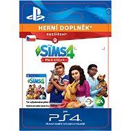The Sims 4 Cats & Dogs - PS4 CZ Digital - Herní doplněk