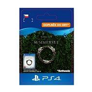 The Elder Scrolls Online: Summerset Upgrade - PS4 CZ Digital - Herní doplněk