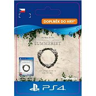 The Elder Scrolls Online: Summerset Collector's Ed. Upgrade - PS4 CZ Digital - Herní doplněk