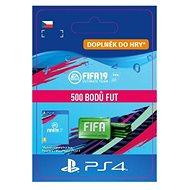 500 FIFA 19 Points Pack - PS4 CZ Digital - Herní doplněk