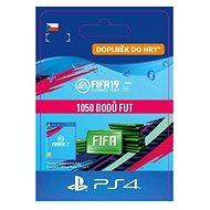 1050 FIFA 19 Points Pack - PS4 CZ Digital - Herní doplněk