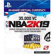 35,000 VC NBA 2K19 - PS4 CZ Digital - Herní doplněk