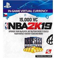 15,000 VC NBA 2K19 - PS4 CZ Digital - Herní doplněk