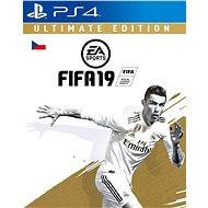 FIFA 19 Ultimate Edition - PS4 CZ Digital - Hra pro konzoli