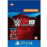 COD: WWE 2K19 Season Pass - PS4 CZ Digital - Herní doplněk