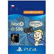 Fallout 76: 500 Atoms - PS4 CZ Digital - Gaming Accessory
