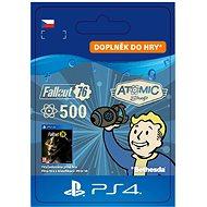 Fallout 76: 500 Atoms - PS4 CZ Digital - Herní doplněk