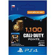 1,100 Call of Duty: Black Ops 4 Points - PS4 CZ Digital - Herní doplněk