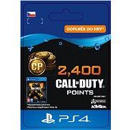 2,400 Call of Duty: Black Ops 4 Points - PS4 CZ Digital - Herní doplněk