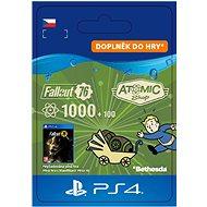 Fallout 76: 1000 (+100 Bonus) Atoms - PS4 CZ Digital - Herní doplněk