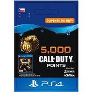 5,000 Call of Duty: Black Ops 4 Points - PS4 CZ Digital - Herní doplněk