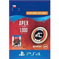Apex Legends - 1000 Apex Coins- PS4 CZ Digital - Herní doplněk
