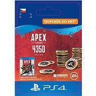 Apex Legends - 4000+350 Bonus Apex Coins- PS4 CZ Digital - Herní doplněk
