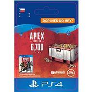 Apex Legend - 6000+700 Bonus Apex Coins- PS4 CZ Digital - Herní doplněk