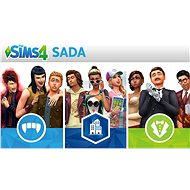 The Sims 4: Bundle (Život ve městě, Upíři a Staré časy) - PS4 CZ Digital - Herní doplněk