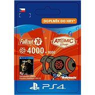 Herní doplněk Fallout 76: 4000 (+1000 Bonus) Atoms - PS4 CZ Digital