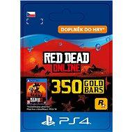 Red Dead Redemption 2: 350 Gold Bars - PS4 CZ Digital