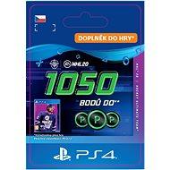 NHL 20 ULTIMATE TEAM NHL POINTS 1050 - PS4 CZ Digital - Herní doplněk