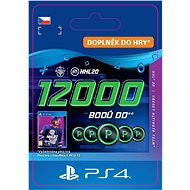 NHL 20 ULTIMATE TEAM NHL POINTS 12000 - PS4 CZ Digital - Herní doplněk