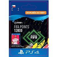 FIFA 20 ULTIMATE TEAM™ 12000 POINTS - PS4 CZ Digital - Herní doplněk