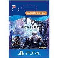 Monster Hunter World: Iceborne - PS4 CZ Digital - Herní doplněk