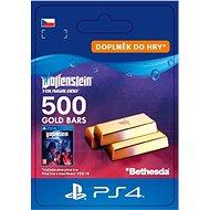 Wolfenstein: Youngblood - 500 Gold Bars - PS4 CZ Digital - Herní doplněk