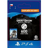 Ghost Recon Breakpoint - 600 Ghost Coins - PS4 CZ Digital - Herní doplněk