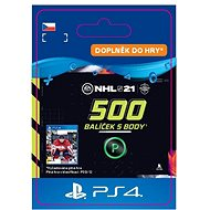 NHL 21: Ultimate Team 500 Points - PS4 CZ Digital