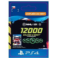 NHL 21: Ultimate Team 12000 Points - PS4 CZ Digital - Herní doplněk