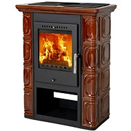 THORMA BORGHOLM Black/Dark Brown - Wood Stove